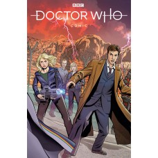 DOCTOR WHO COMICS #1 CVR C JONES