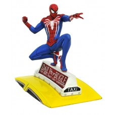 MARVEL GALLERY PS4 SPIDER-MAN ON TAXI STATUE (C: 1-1-0)