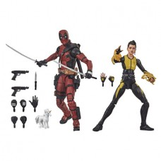 X-MEN MOVIE LEGENDS 6IN DEADPOOL & NEGASONIC 2PK AF CS (Net)