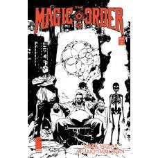 MAGIC ORDER 2 #2 (OF 6) CVR B IMMONEN B&W (MR)