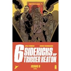 SIX SIDEKICKS OF TRIGGER KEATON #6 CVR A SCHWEIZER (MR)
