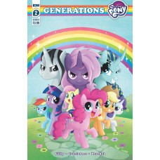 MY LITTLE PONY GENERATIONS #2 CVR B GARBOWSKA (C: 1-0-0)