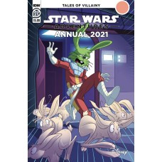 STAR WARS ADVENTURES ANNUAL 2021 CVR A FLOREAN (C: 1-0-0)