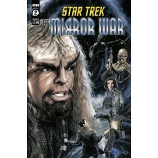 STAR TREK MIRROR WAR #2 (OF 8) CVR A WOODWARD