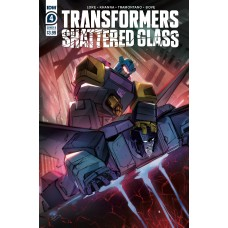 TRANSFORMERS SHATTERED GLASS #4 (OF 5) CVR B MCGUIRE-SMITH