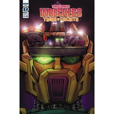 TRANSFORMERS WRECKERS TREAD & CIRCUITS #2 (OF 4) CVR B MARGE