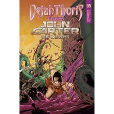 DEJAH THORIS VS JOHN CARTER OF MARS #5 CVR C MIRACOLO