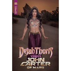 DEJAH THORIS VS JOHN CARTER OF MARS #5 CVR D COSPLAY