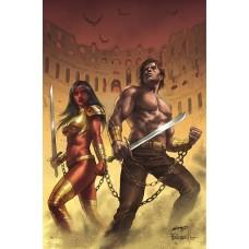 DEJAH THORIS VS JOHN CARTER OF MARS #5 CVR I PARRILLO LTD VI