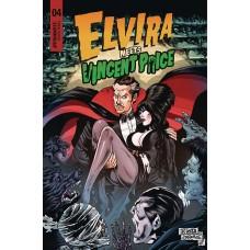 ELVIRA MEETS VINCENT PRICE #4 CVR A ACOSTA