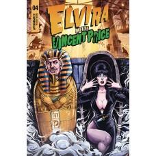 ELVIRA MEETS VINCENT PRICE #4 CVR B SAMU