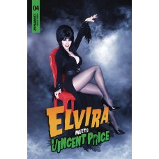 ELVIRA MEETS VINCENT PRICE #4 CVR D PHOTO