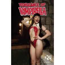 VENGEANCE OF VAMPIRELLA #24 CVR D COSPLAY