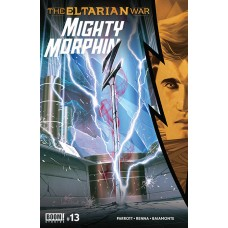 MIGHTY MORPHIN #13 CVR A LEE (C: 1-0-0)