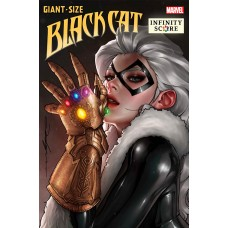 GIANT-SIZE BLACK CAT INFINITY SCORE #1 JEEHYUNG LEE VAR