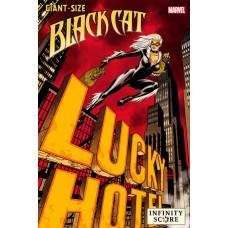 GIANT-SIZE BLACK CAT INFINITY SCORE #1 JOHNSON LUCKY VAR