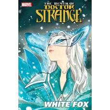 DEATH OF DOCTOR STRANGE WHITE FOX #1 MOMOKO VAR