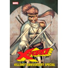 X-FORCE KILLSHOT ANNIVERSARY SPECIAL #1 CONNECTING A VAR