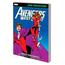 AVENGERS WEST COAST EPIC COLL TP DARKER THAN SCARLET