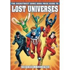 OVERSTREET GUIDE TO LOST UNIVERSES SC CVR B CRUSADERS (C: 0-