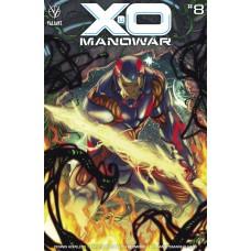 X-O MANOWAR (2020) #8 CVR B DUCE
