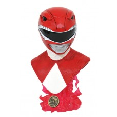MIGHTY MORPHIN POWER RANGERS L3D RED RANGER 1/2 SCALE BUST (