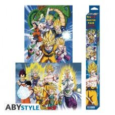 DRAGON BALL Z FIRST FOR SURVIVAL 2PC POSTER SET (C: 1-1-2)